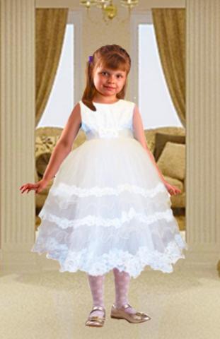 Бальное платье для девочки 9 - 12 лет